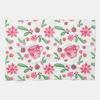 Christmas Pattern Kitchen Towel