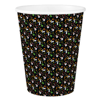Christmas pattern paper cup