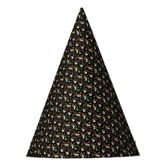 Christmas pattern party hat