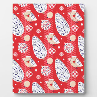 Christmas-pattern Plaque