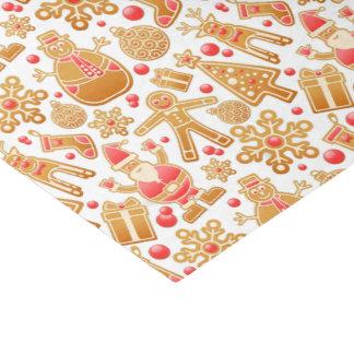 Christmas Pattern-Santa Claus Tree Rudolph Snowman Tissue Paper