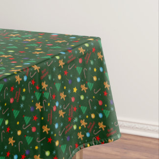 Christmas pattern tablecloth