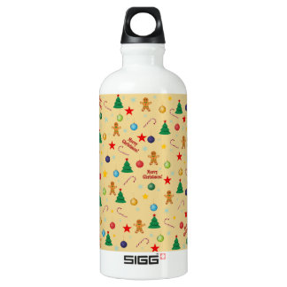 Christmas pattern water bottle