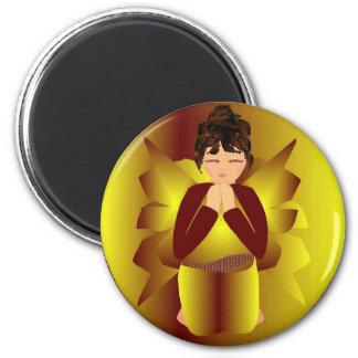 Christmas Peace Angel Magnets