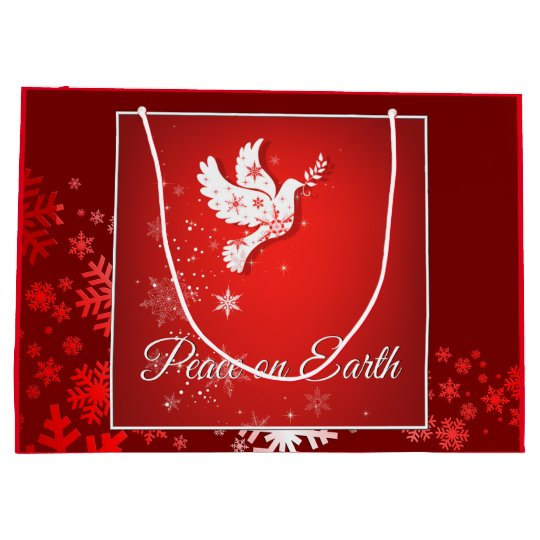 Christmas Peace Gift Bag Large