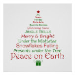 Christmas Peace on Earth Art Print