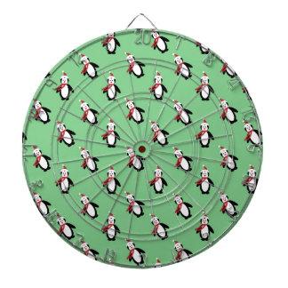 Christmas Penguin Dartboard