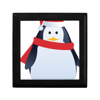 Christmas Penguin Gift Box