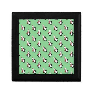 Christmas Penguin Gift Box