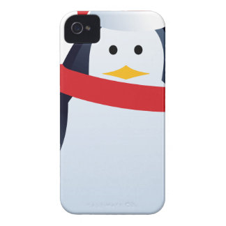 Christmas Penguin iPhone 4 Case-Mate Case