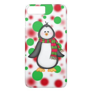 Christmas penguin iPhone 7 plus barely there case