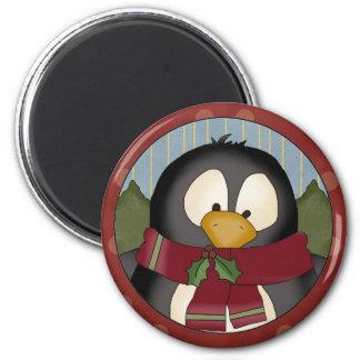 Christmas Penguin magnet