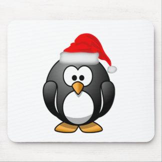 Christmas Penguin Mousepad