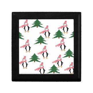 Christmas Penguin Muffin Gift Box