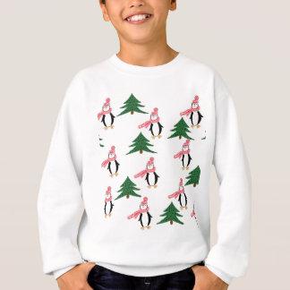 Christmas Penguin Muffin Sweatshirt