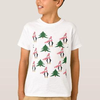 Christmas Penguin Muffin T-Shirt