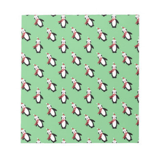 Christmas Penguin Notepad