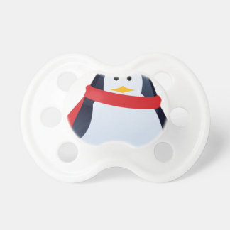 Christmas Penguin Pacifier