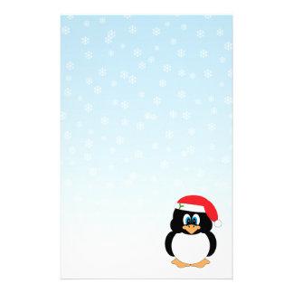 Christmas Penguin Stationery