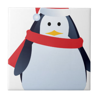 Christmas Penguin Tile