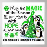 Christmas Penguins Non-Hodgkin's Lymphoma