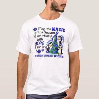 Christmas Penguins Rheumatoid Arthritis T-Shirt