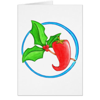 Christmas Pepper Card