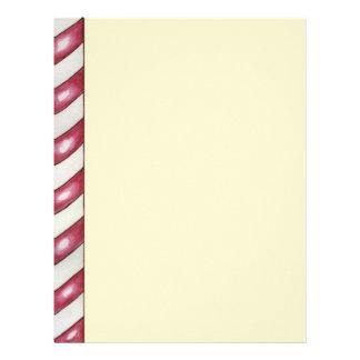 Christmas Peppermint Letterhead