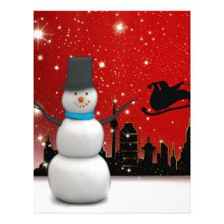 Christmas Personalized Letterhead