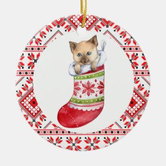 christmas pet  cat animals decoration ornaments