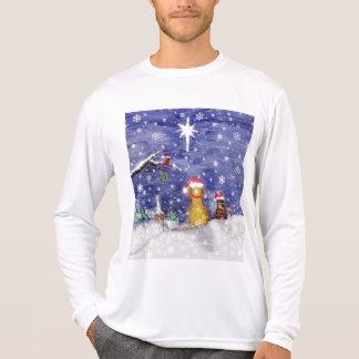 Christmas Pets - art T-Shirt