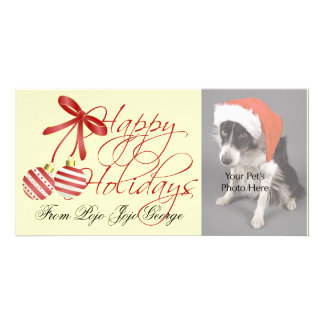 Christmas Photo Cards for your pets!