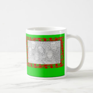 Christmas Photo Frame Classic White Coffee Mug