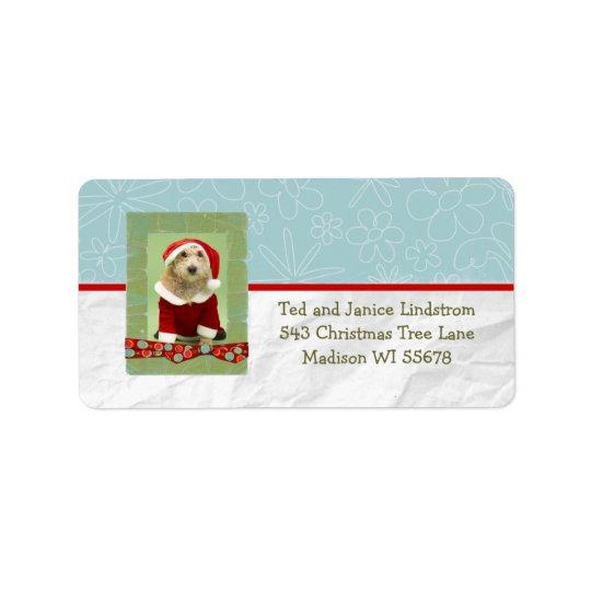 Christmas Photo Frame Custom Personalized