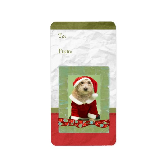 Christmas Photo Frame Gift Tag