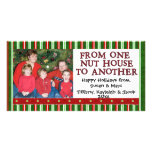 Christmas Photo Template Customized Photo Card