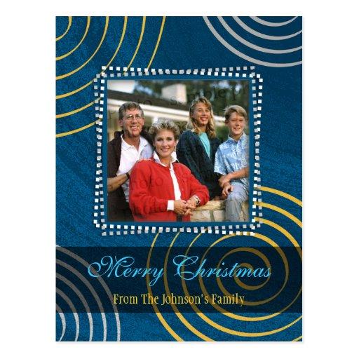 Christmas Photo Template Postcard