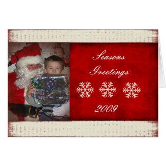 Christmas Photocard Greeting Card