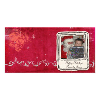 christmas photocard picture card