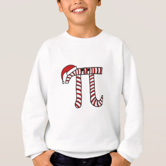 Christmas Pi Cartoon Math Geek Sweatshirt