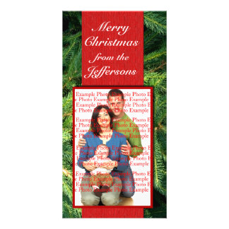 Christmas Picture Cards Personalized Photo Card