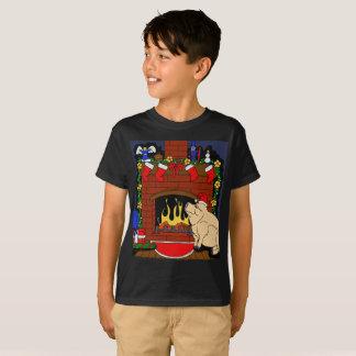Christmas Pig T-shirt kids