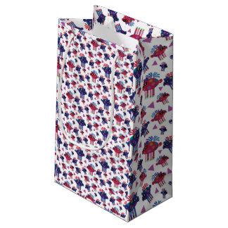 Christmas piggies small gift bag