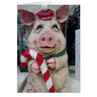 CHRISTMAS PIGGY WISHES CARDS