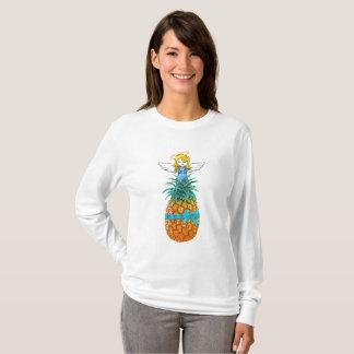 Christmas Pine Angel Tree T-Shirt