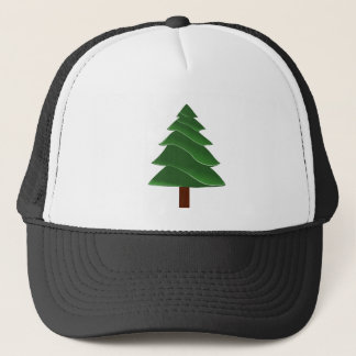 Christmas Pine Trucker Hat