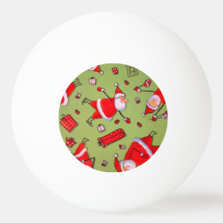 Christmas Ping Pong Ball