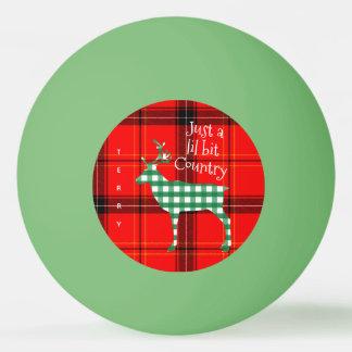 CHRISTMAS PING PONG BALLS