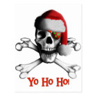 Christmas Pirate Postcard