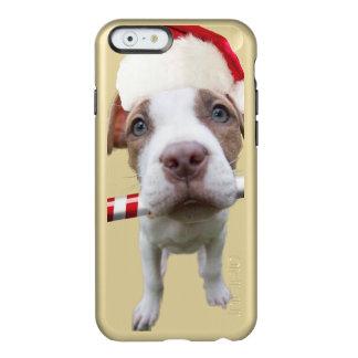 Christmas pitbull - santa pitbull -santa claus dog incipio feather® shine iPhone 6 case
